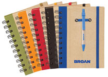 Custom Notebooks with Pens